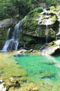 Virje-waterfall